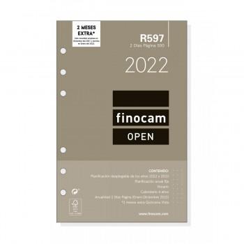 RECAMBIO ANUAL 2022 FINOCAM 117X181 2D/P R597