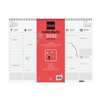 VADE SEMANAL ESPIRAL 2022 FINOCAM 420X320X8 S/V