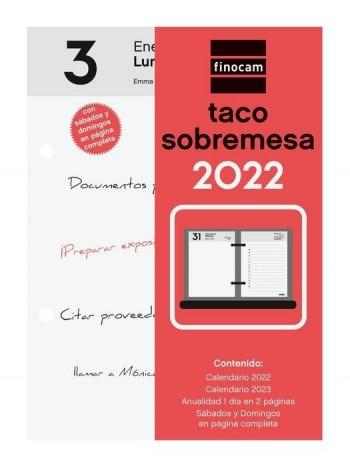 TACO SOBREMESA 2022 FINOCAM 85X120