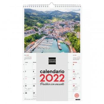 CALENDARIO DE PARED 2022 FINOCAM 25X40 PUEBLENCAN