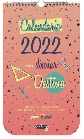 CALENDARIO PARED 2022 TALKUAL FINOCAM