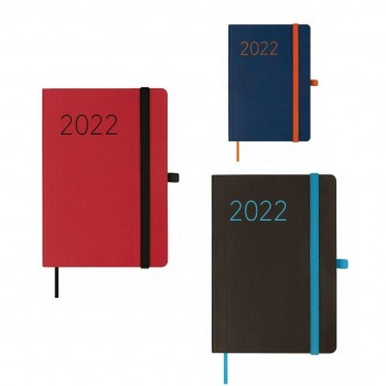 AGENDA ANUAL 2022 FINOCAM LISA 15X21 1DP NEGRO+