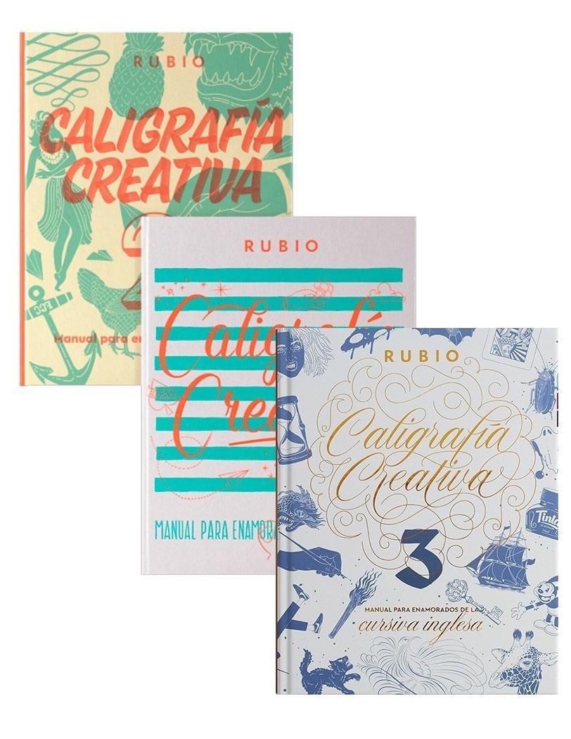 LIBRO DE CALIGRAFIA CREATIVA EDITORIAL RUBIO PARA LETTERING