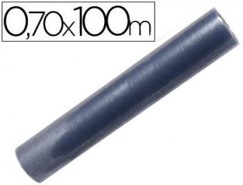 ROLLO PLASTICO FORRALIBROS 0,7 X 100 MT