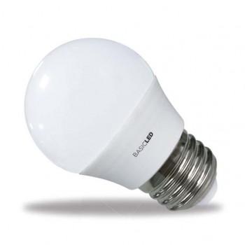 BOMBILLA SUNMATIC LED MINI GLOBO FROST 6W 4200K 470 LUMENES LUZ BLANCA