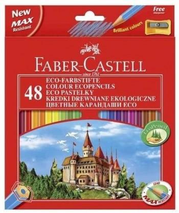 ESTUCHE DE 48 ECOLÁPICES DE COLOR FABER CASTELL