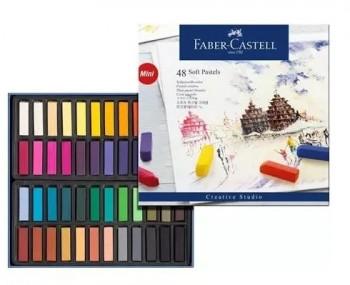 ESTUCHE 36 PINTURAS PASTEL BLANDA MINI CREATIVE STUDIO FABER CASTELL