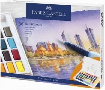 ESTUCHE 36  ACUARELAS CREATIVE STUDIO FABER CASTELL