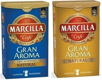 CAFE MOLIDO MARCILLA NATURAL CON CIERRE CLICKPAQ