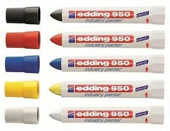 MARCADOR PERMAMENTE EDDING 950 CERA 10 mm