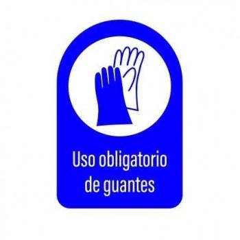 SEÑAL 20X30 USO DE GUANTES
