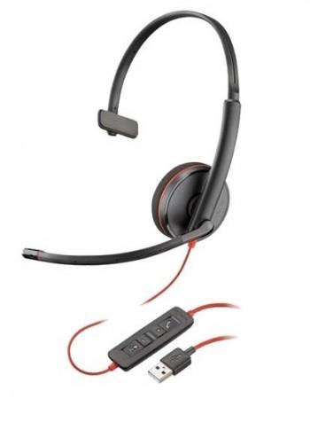 AURICULAR POLY BLACKWIRE C3210 USB A