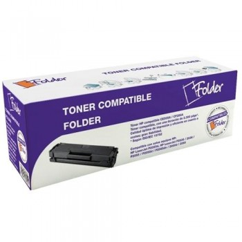 FOLDER TONER COMPATIBLE CE285A NEGRO