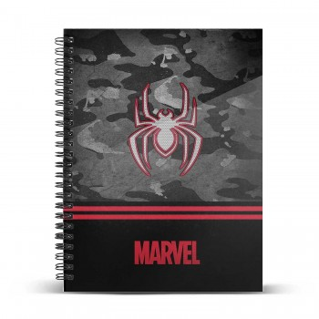 KARACTERMANIA CUADERNO A4 SPIDERMAN