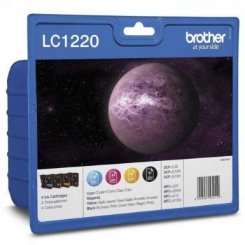 CATURCHOS BROTHER LC-1220 PACK 4 COLORES