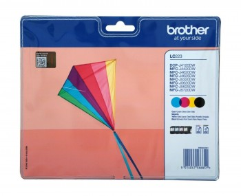 PACK CARTUCHOS BROTHER INKJET LC223 ORIGINAL