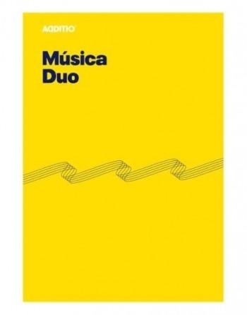 CUADERNO MUSICA DUO ADDITIO