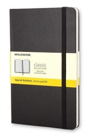 CUADERNO MOLESKINE CLASSIC LARGE 240 PAGINAS 13X21 CM NEGRO