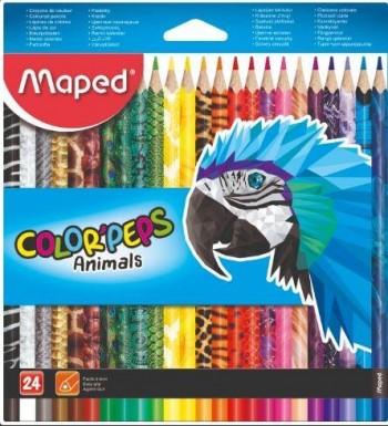 LAPICEROS ANIMALS COLOR PEPS CAJA DE 24