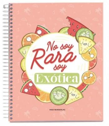 CUADERNO A5 NOTEBOOK 1 MISSBORDERLIKE - NO SOY EXOTICA