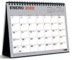 CALENDARIO SOBREMESA 2022 MIQUELRIUS