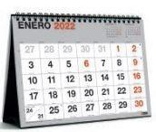 (22A) CALENDARIO SOBREMESA 2022 MIQUELRIUS A5 NUM GRANDES BASIC