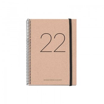 AGENDA ANUAL 2022 MIQUELRIUS 155X213 D/P RECYCLED YEAR