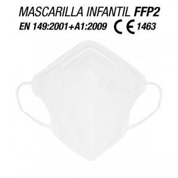 MASCARILLA PARA NIÑOS/AS FFP2 BLANCAS