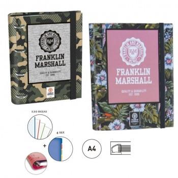 CARPETA RINGBOOK A4 FRANKLIN&MARSHALL SENFORT