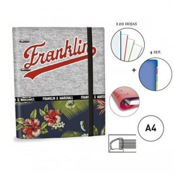 CARPETA RINGBOOK A4 SENFORT F&M CHICA