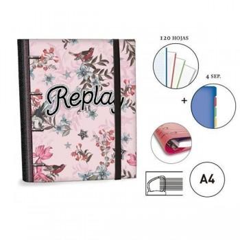 CARPETA RINGBOOK A4 REPLAY SENFORT