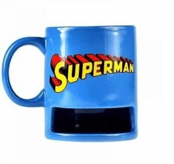TAZA DE SUPERMAN COOKIE HOLDER