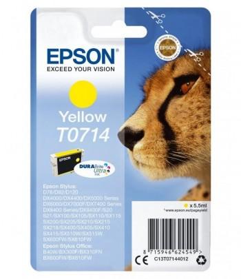 CARTUCHO EPSON INKJET T0714 COLOR AMARILLO