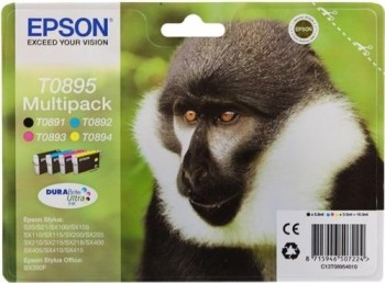 MULTIPACK EPSON 4 COLORES STYLUS S20/SX105