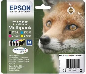 EPSON CARTUCHO INKJET TINTA BLISTER PACK-4 T1285