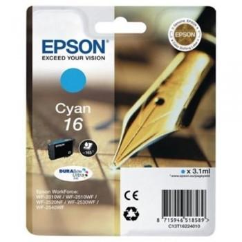 EPSON CARTUCHO INYEC CYAN 165PAG WF-2010