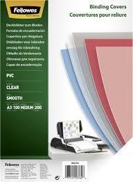 CUBIERTAS DE ENCUADERNAR PVC TRASLUCIDO A3