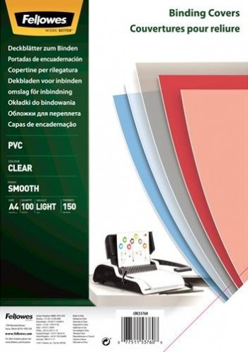 CUBIERTAS DE ENCUADERNAR PVC TRASLUCIDO A4