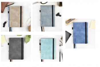 CUADERNO BULLET JOURNAL 19X 25 JEANS