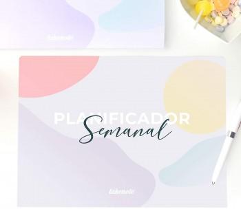 PLANIFICADOR SEMANAL ABSTRACT